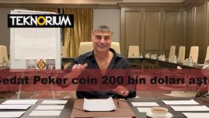 Sedat Peker coin grafiği - 28 Mayıs Sedat Peker coin değeri 200 bin doları aştı!